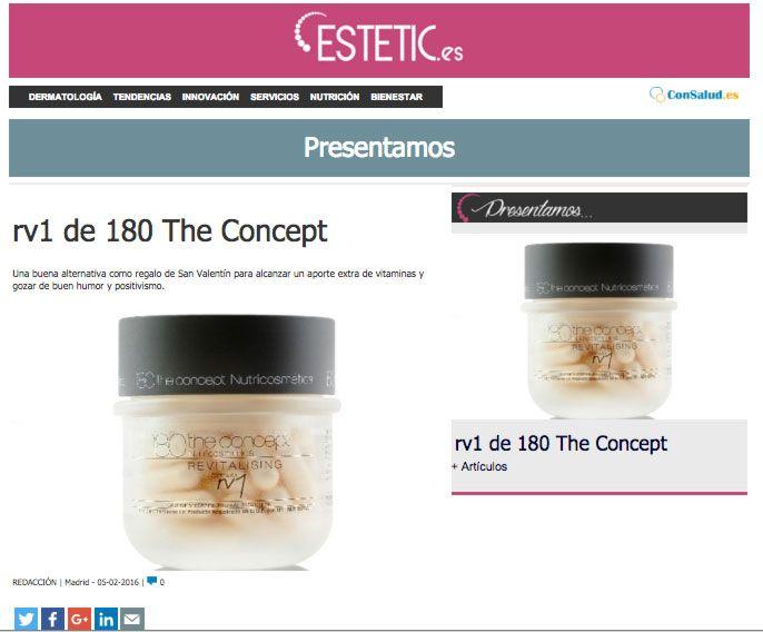 rv1 de 180 the concept nutricosmética