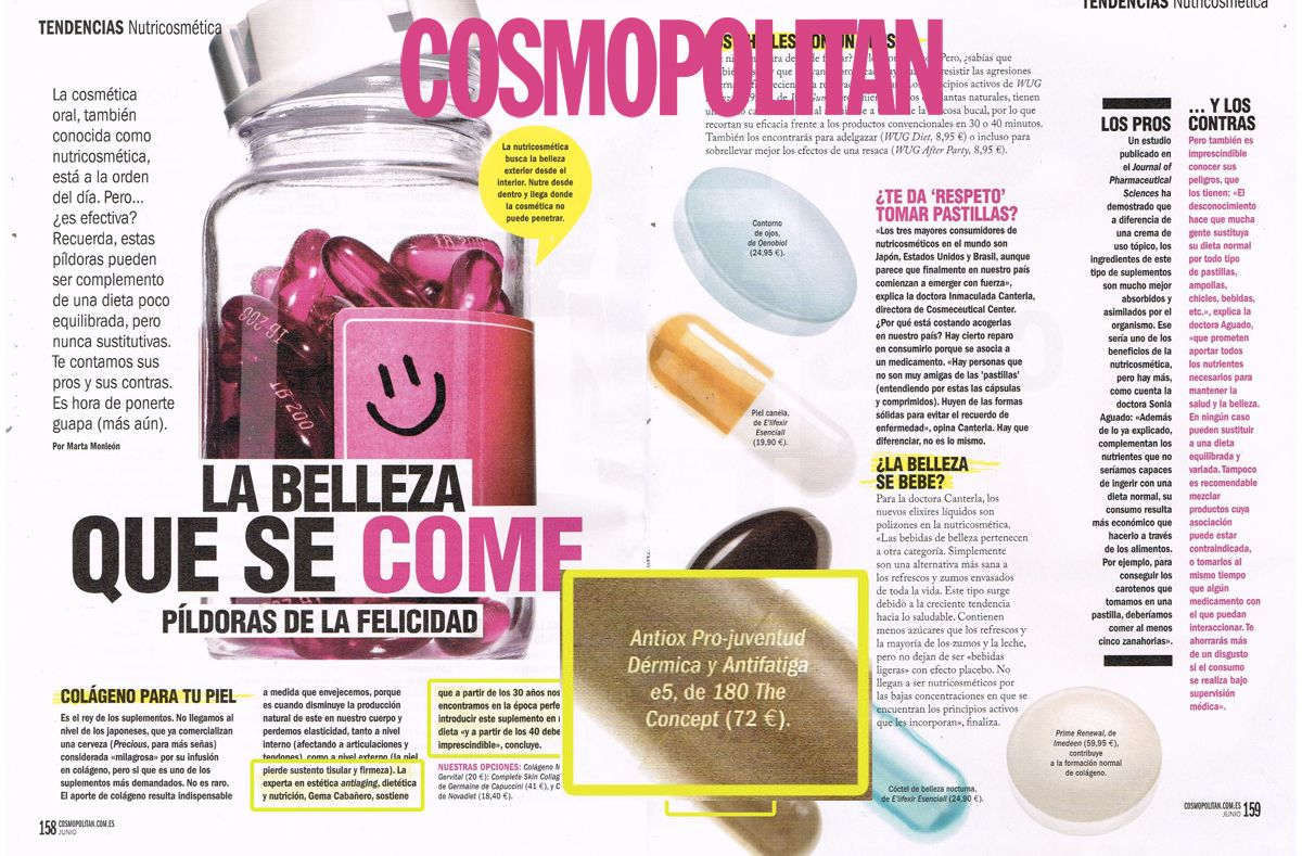 E5 en Cosmopolitan