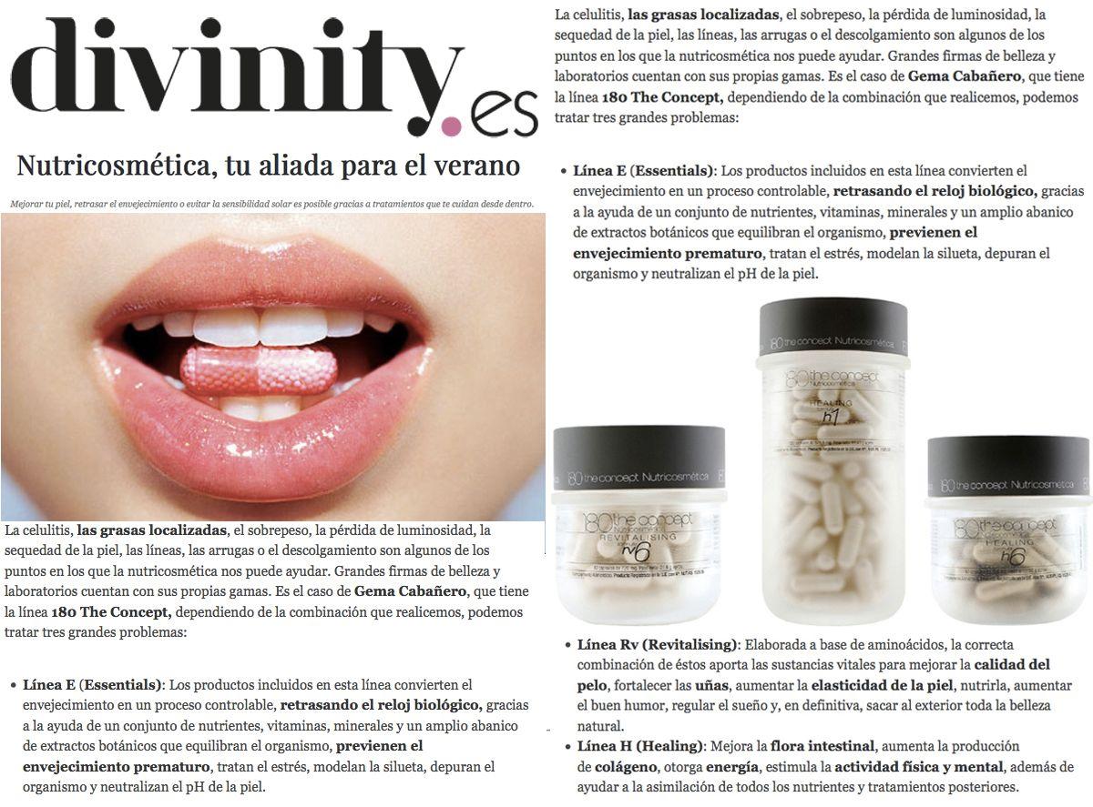 Nutricosmética en Divinity.es