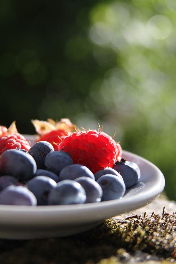 caida del cabello frutas