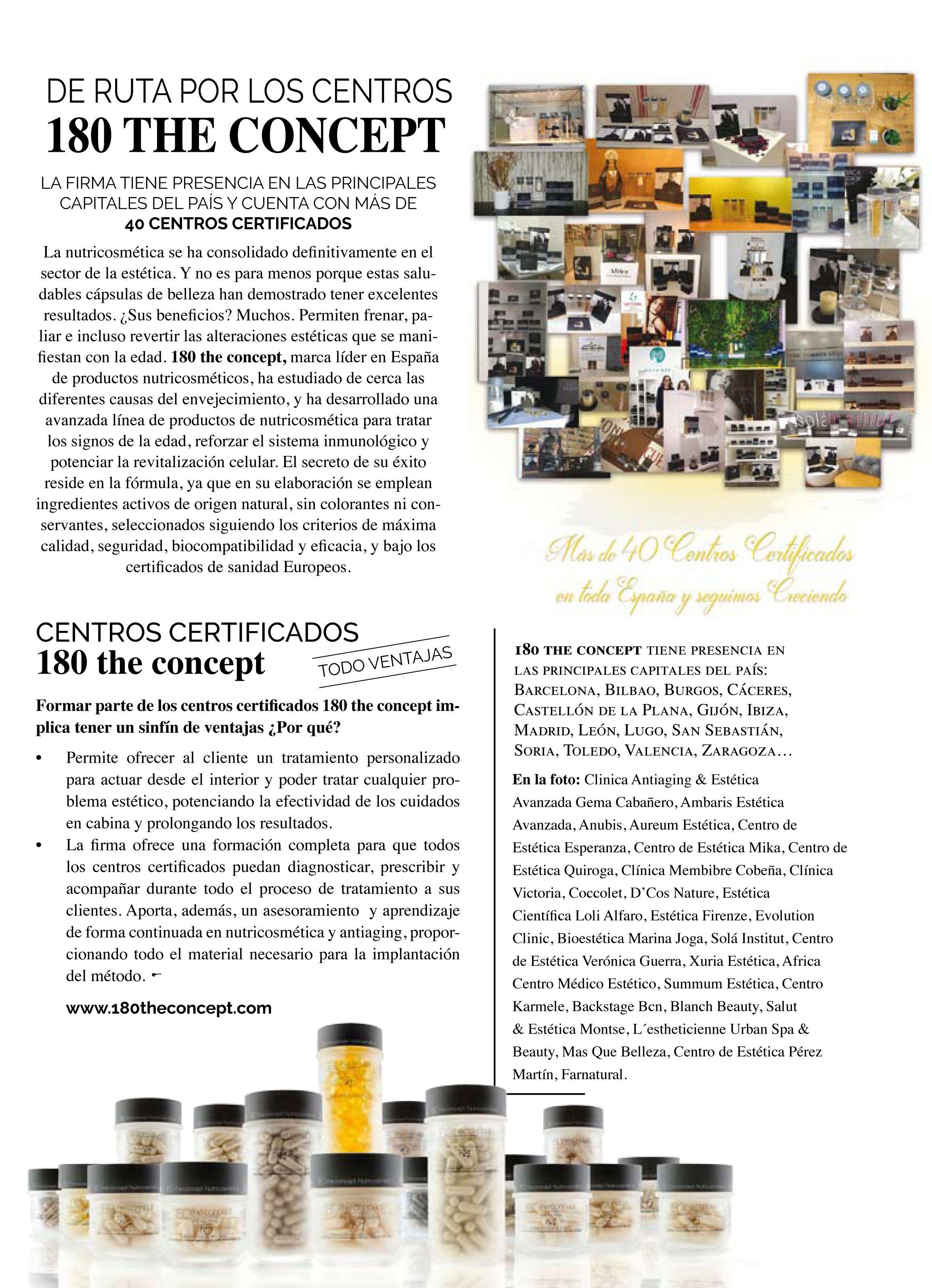 centros Certificados 180 the concept  en Nueva estética